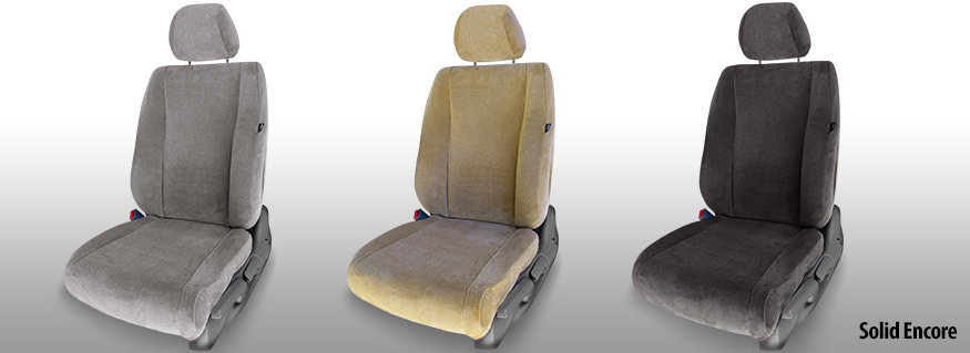 Velour Seat Covers - Original Look Cloth Seat Covers
